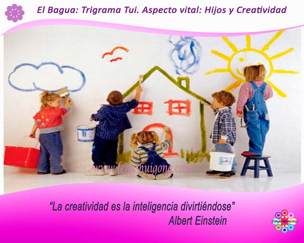 feng shui hijos creatividad