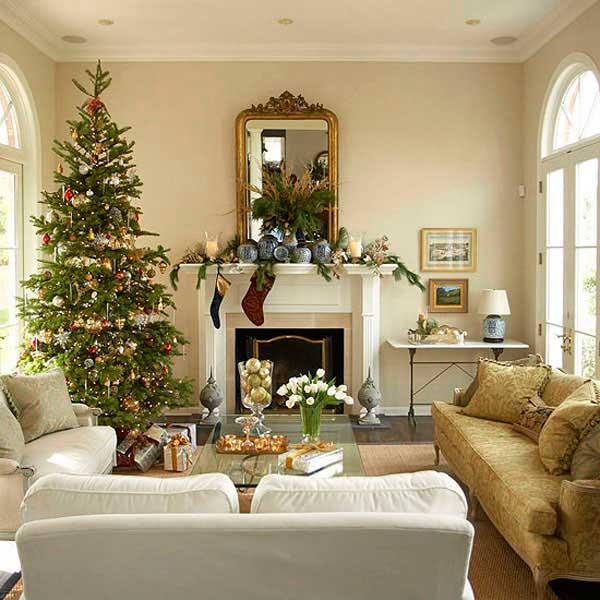 decoración navidad feng shui