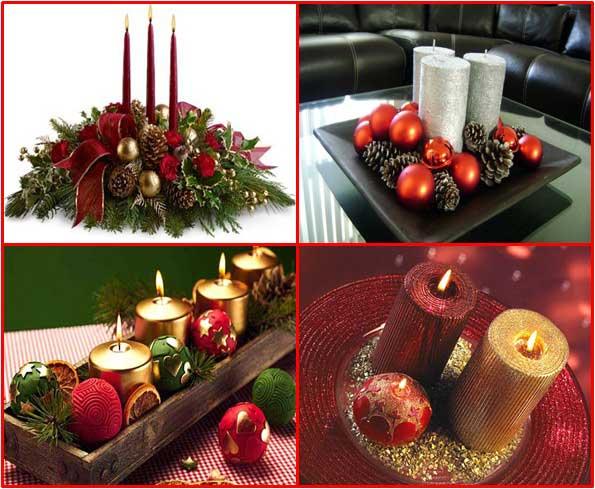 centros de mesa navidad