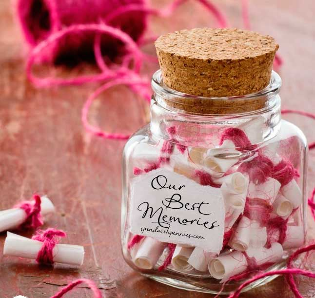 frasco de los recuerdos