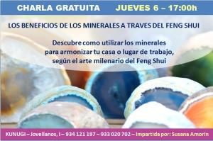 feng shui y minerales