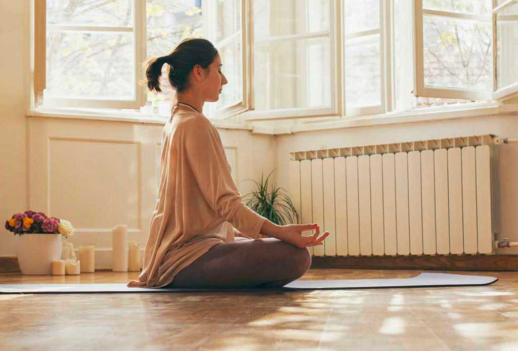 crea tu espacio de meditación en casa