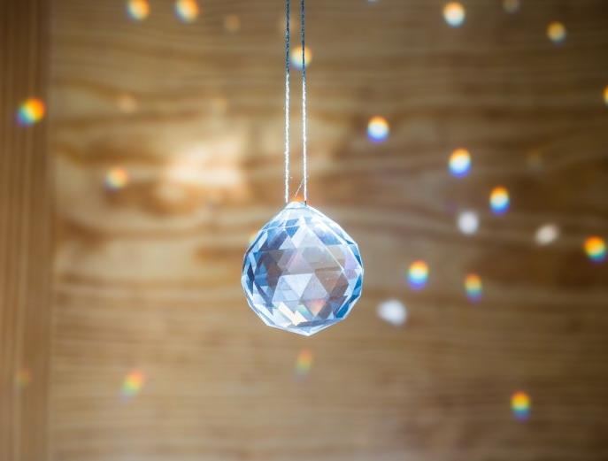 esfera de cristal feng shui