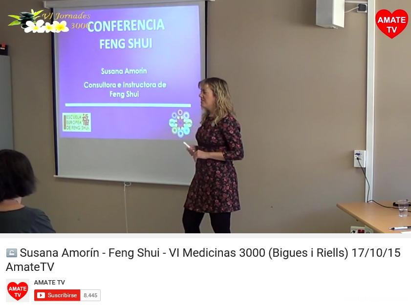 Susana Amorín en Medicinas 3000