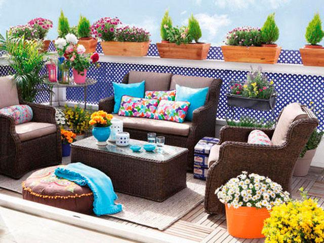 terrazas con feng shui